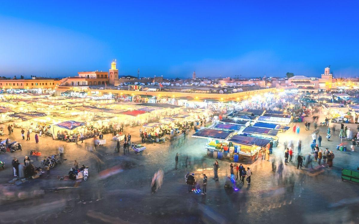 Jemaa el-Fnaa Square Marrakech